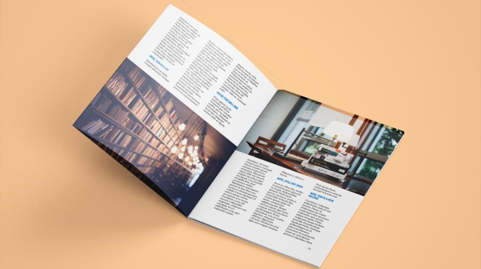 Assured Design A4 Brochure Design