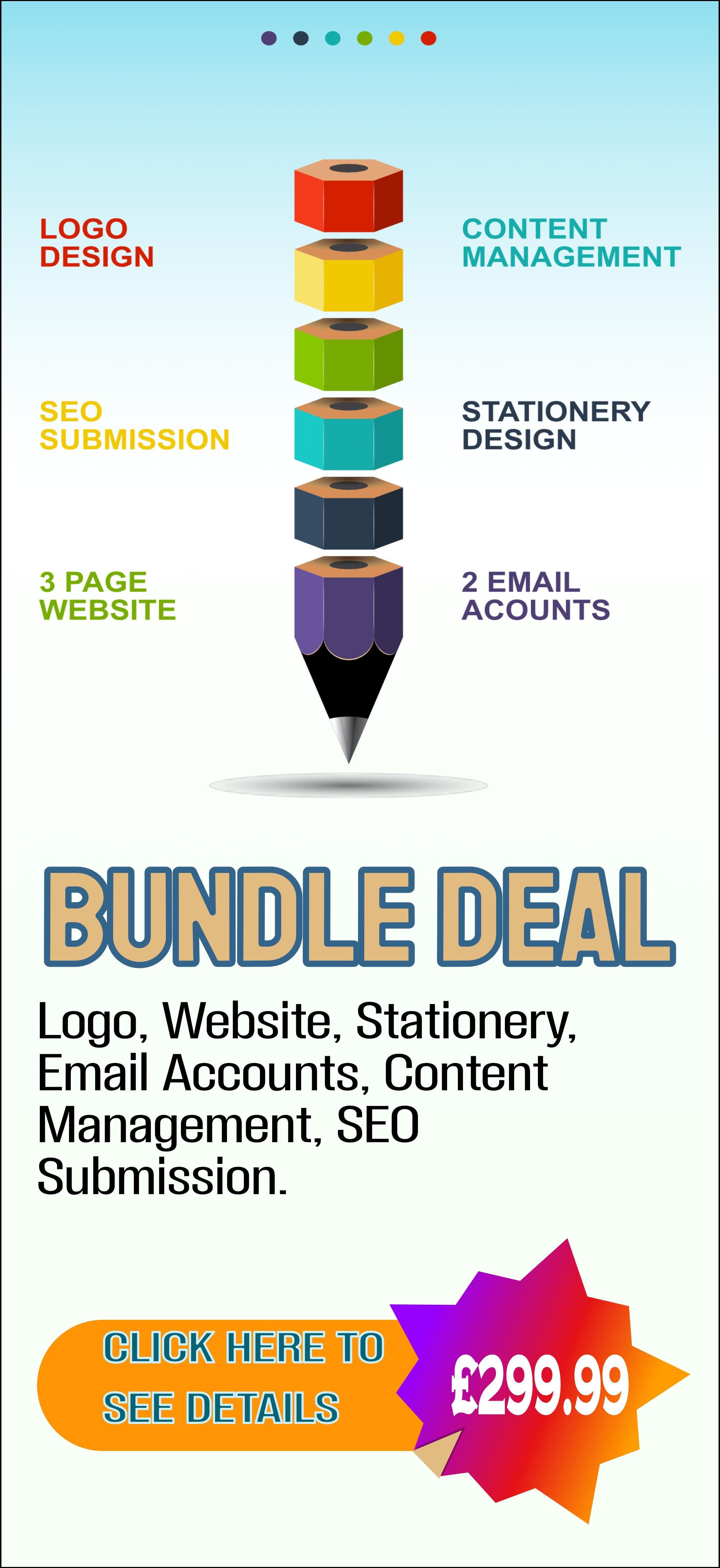 Logo Design and website bundle
